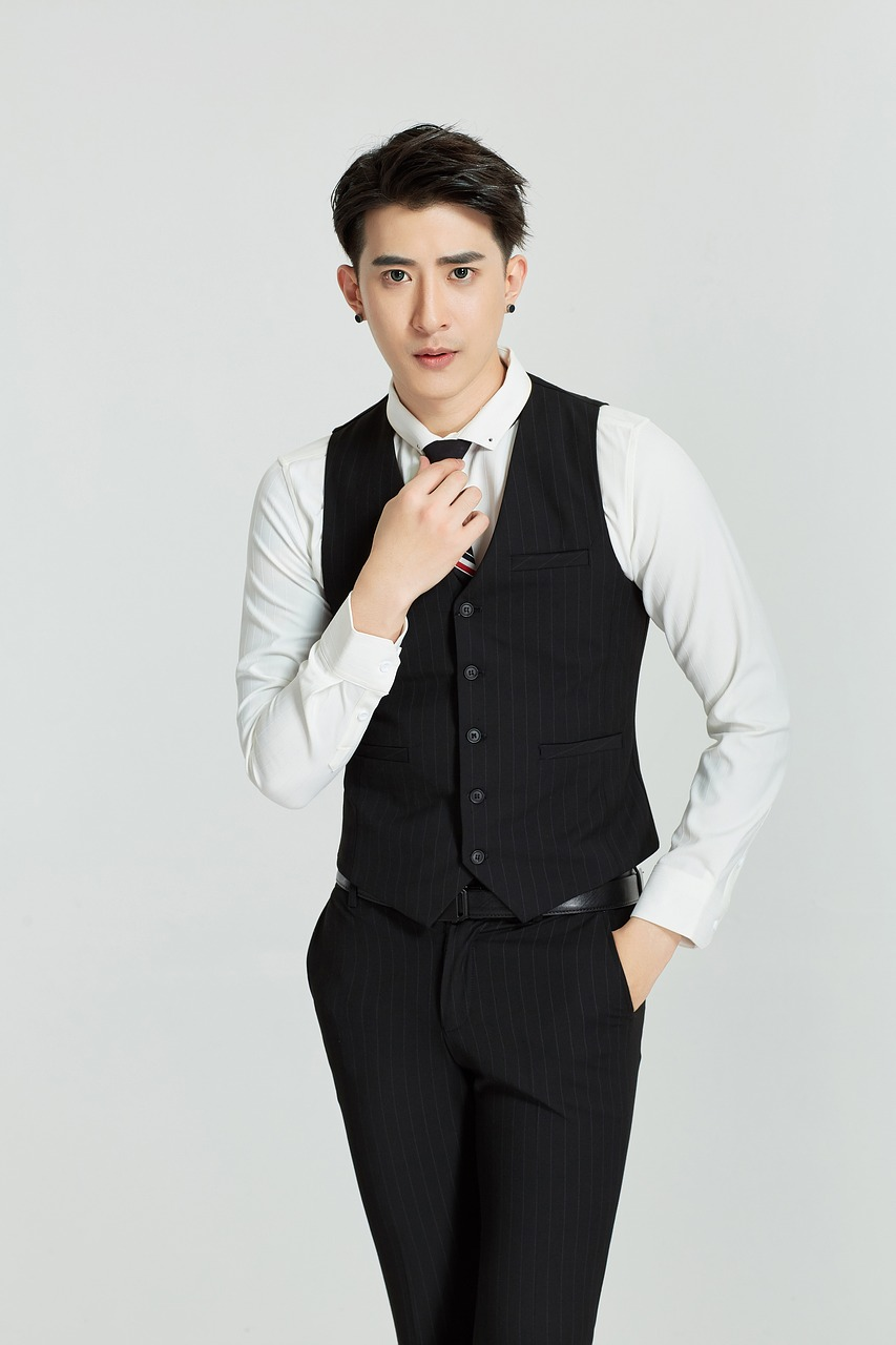 suit vest people free photo