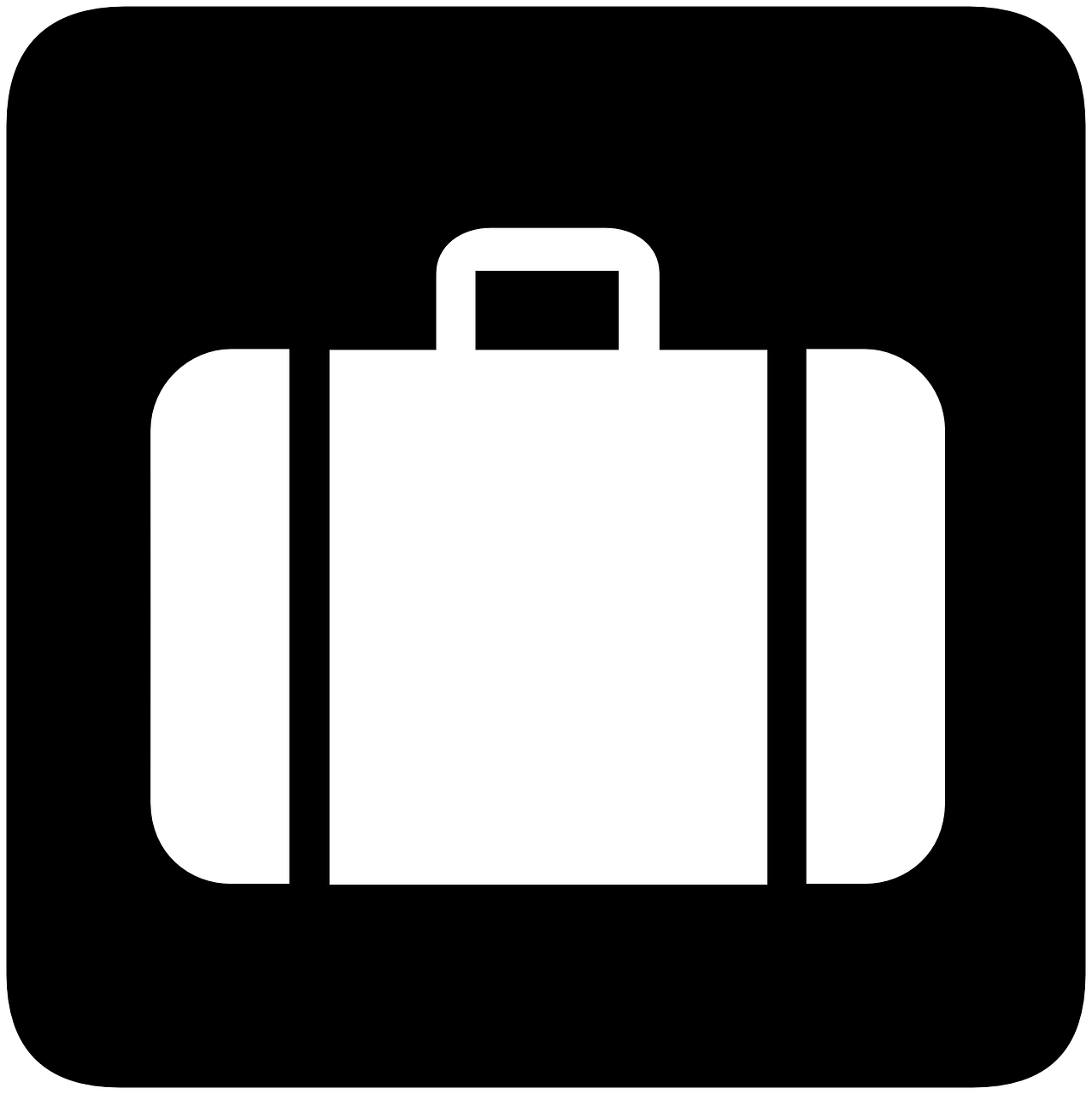 suitcase information baggage free photo