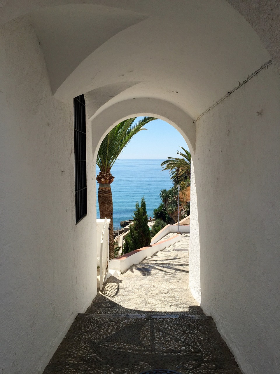 sun white doorway free photo