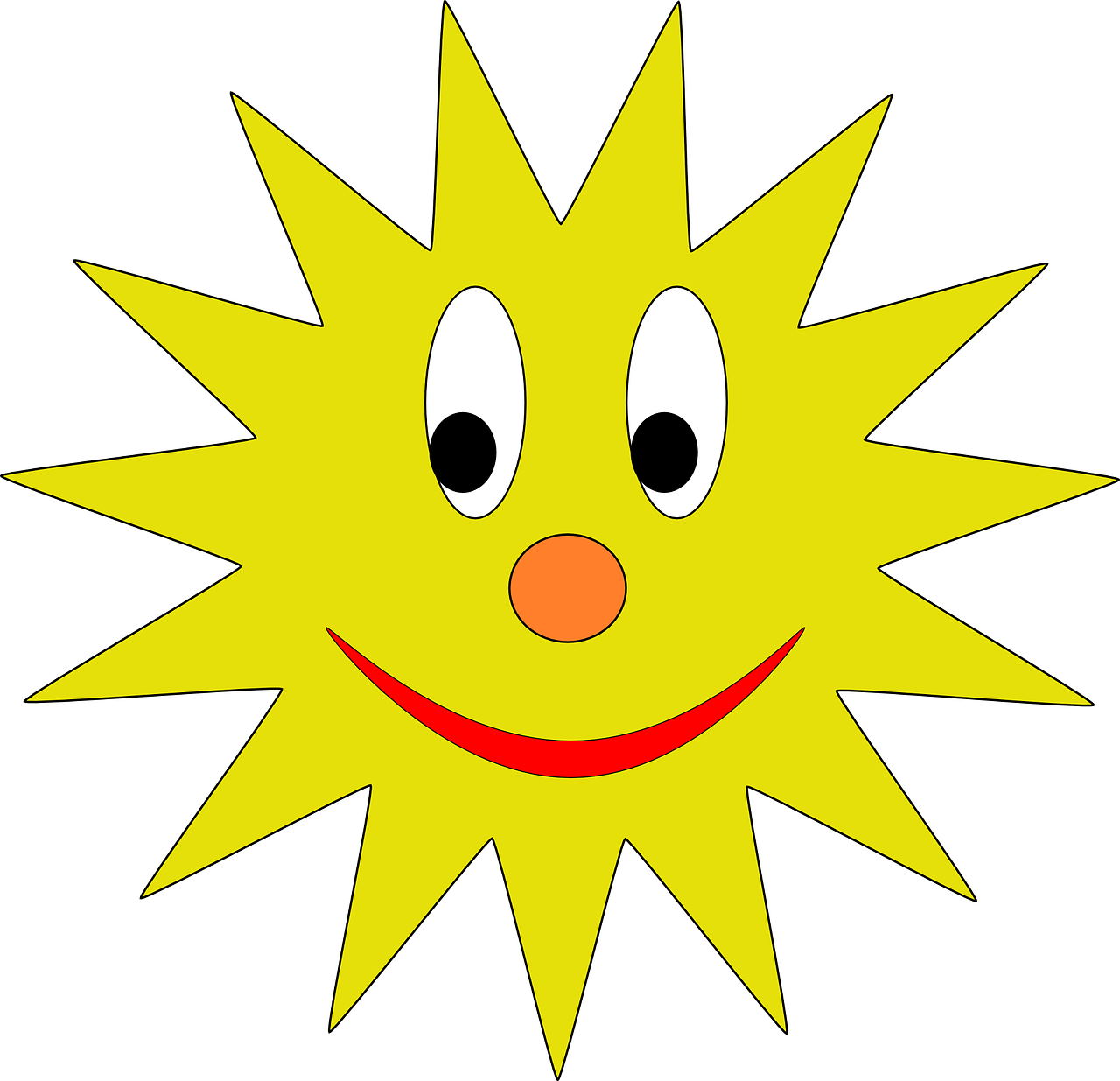 sun smiley smiling free photo