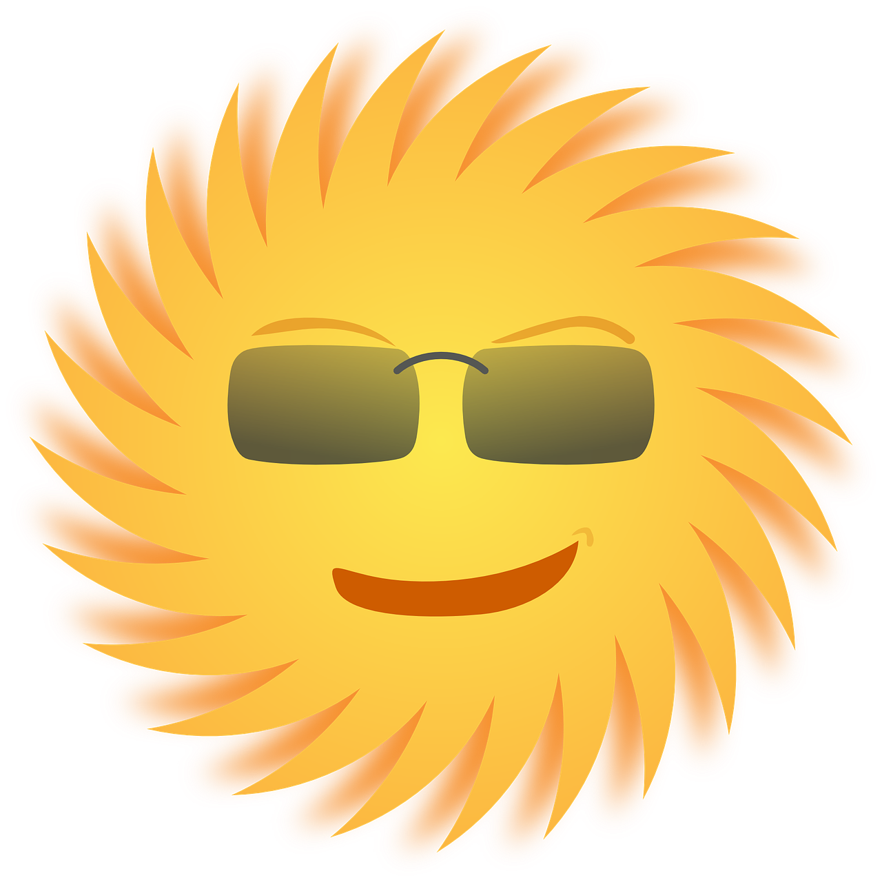 sun sunglasses smiling free photo
