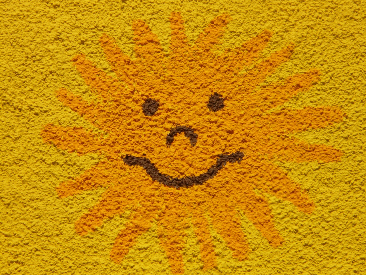 sun sunny face free photo