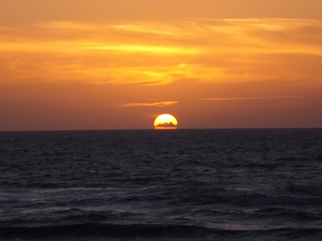 Skyglow When I See Sunset Like This In >> Sunset Dawn Sea Sky Glow Free Photo From Needpix Com