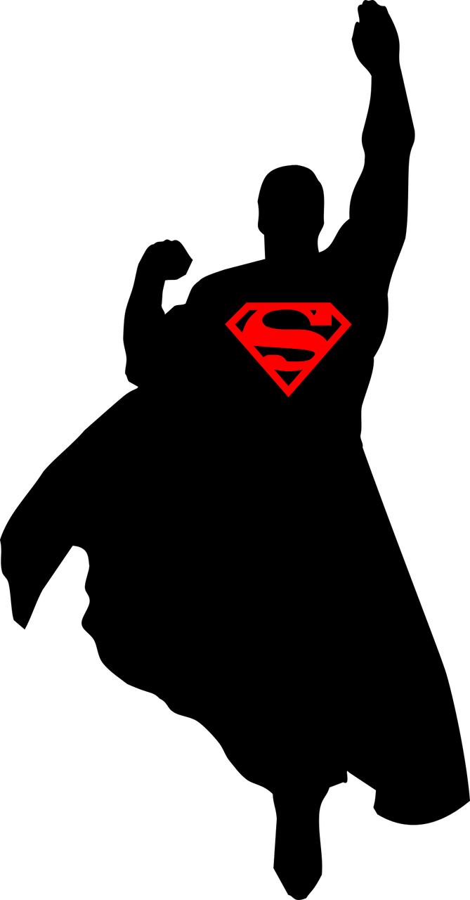 Superman,super-heroes,free vector graphics,free pictures ...