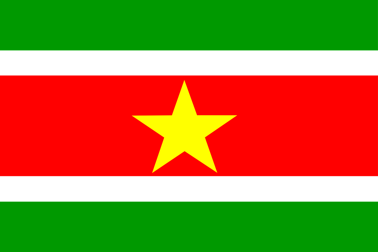 suriname flag country free photo