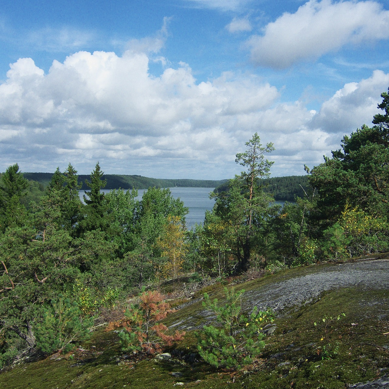 sweden landscape sky free photo