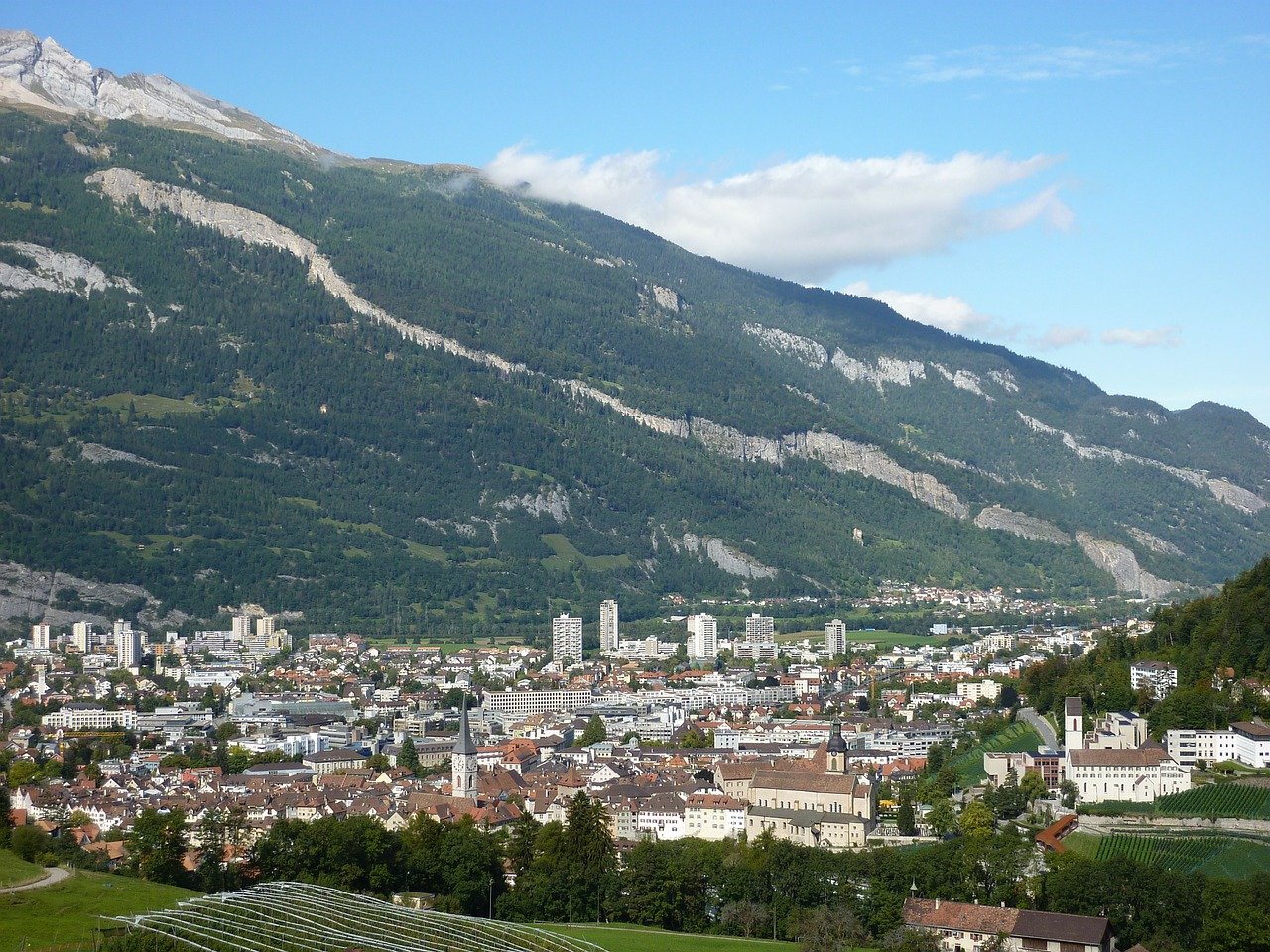 switzerland chur capital free photo
