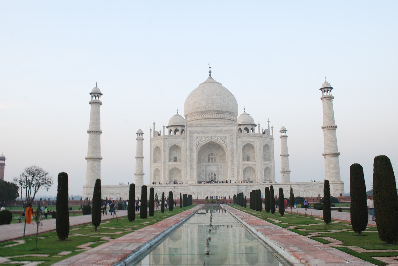 taj mahal monument wonder free photo