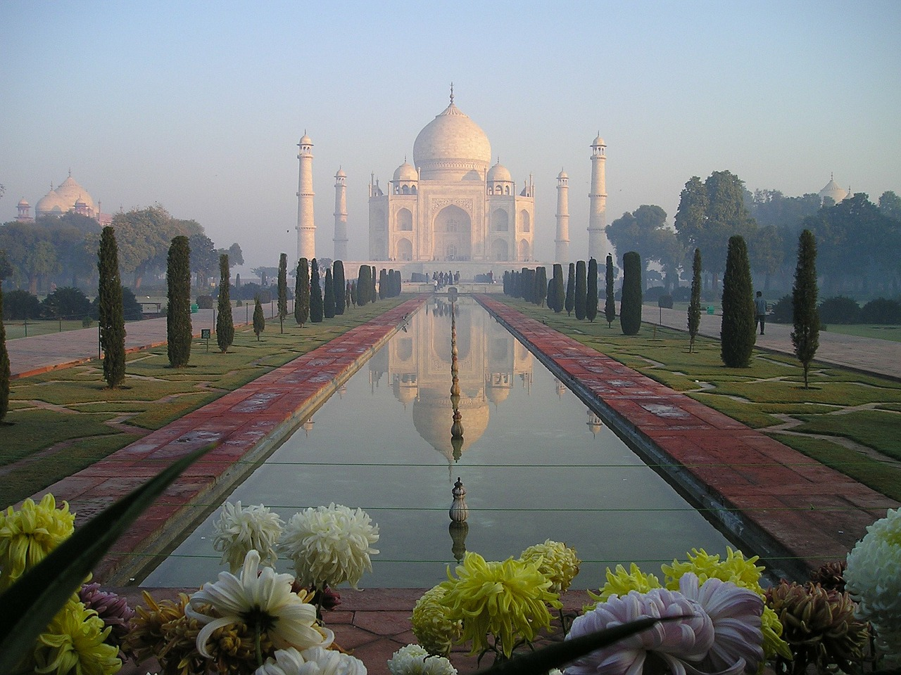 taj mahal india agra free picture