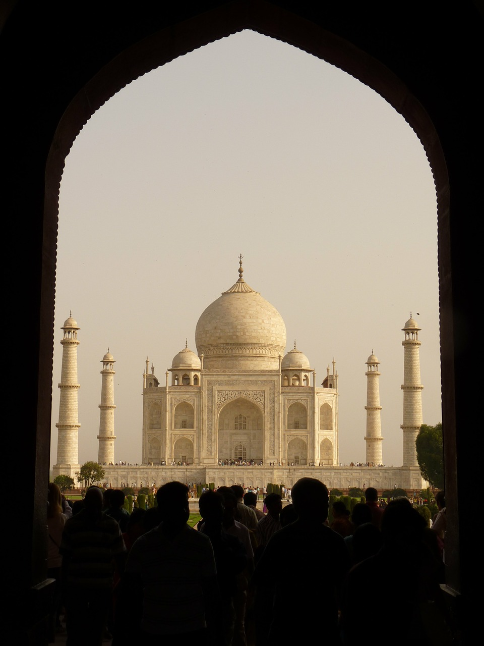 taj mahal india tomb free photo