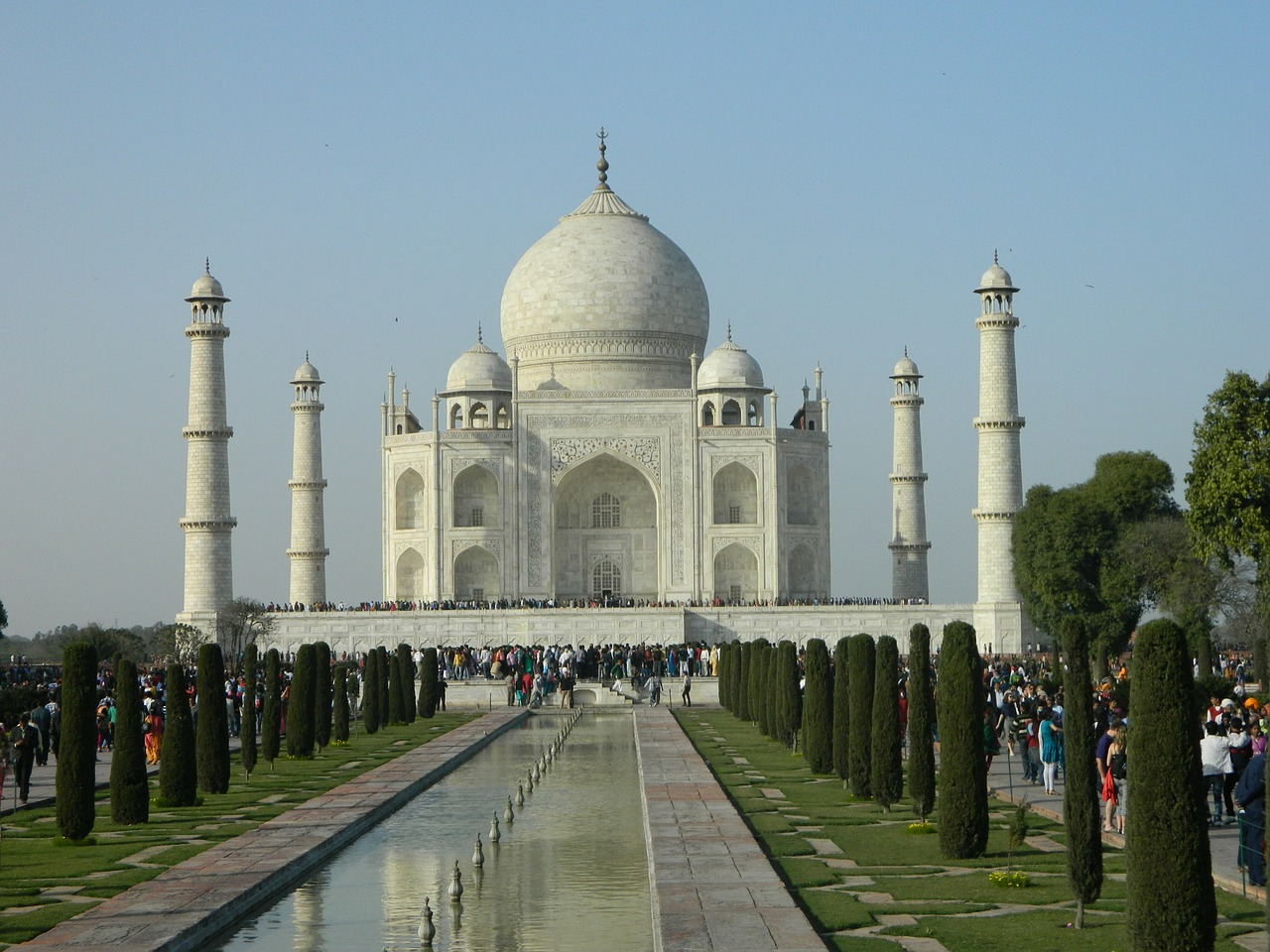 taj mahal india mahal free photo