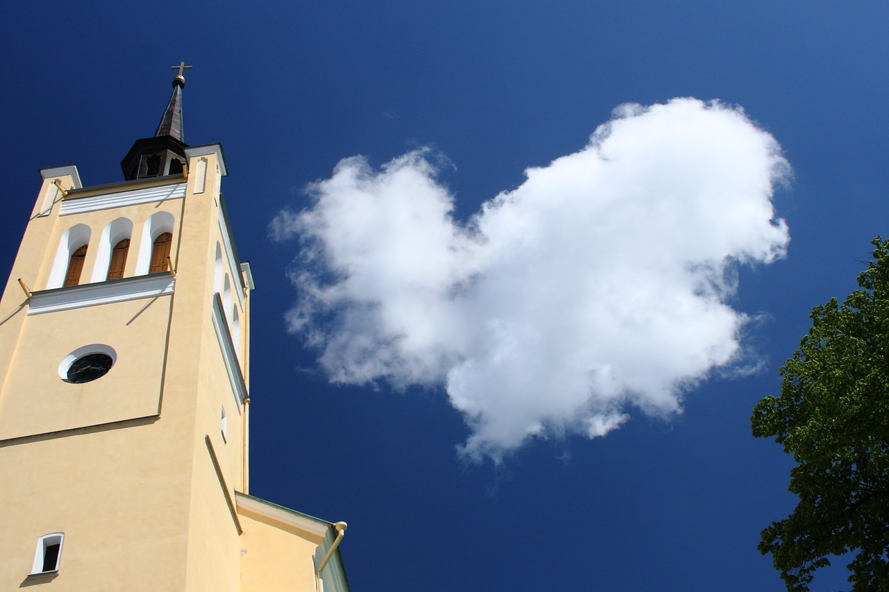 tallinn estonia church free photo