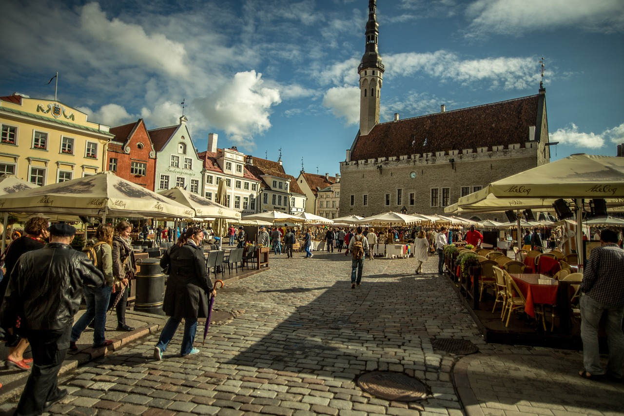 tallinn city tourism free photo