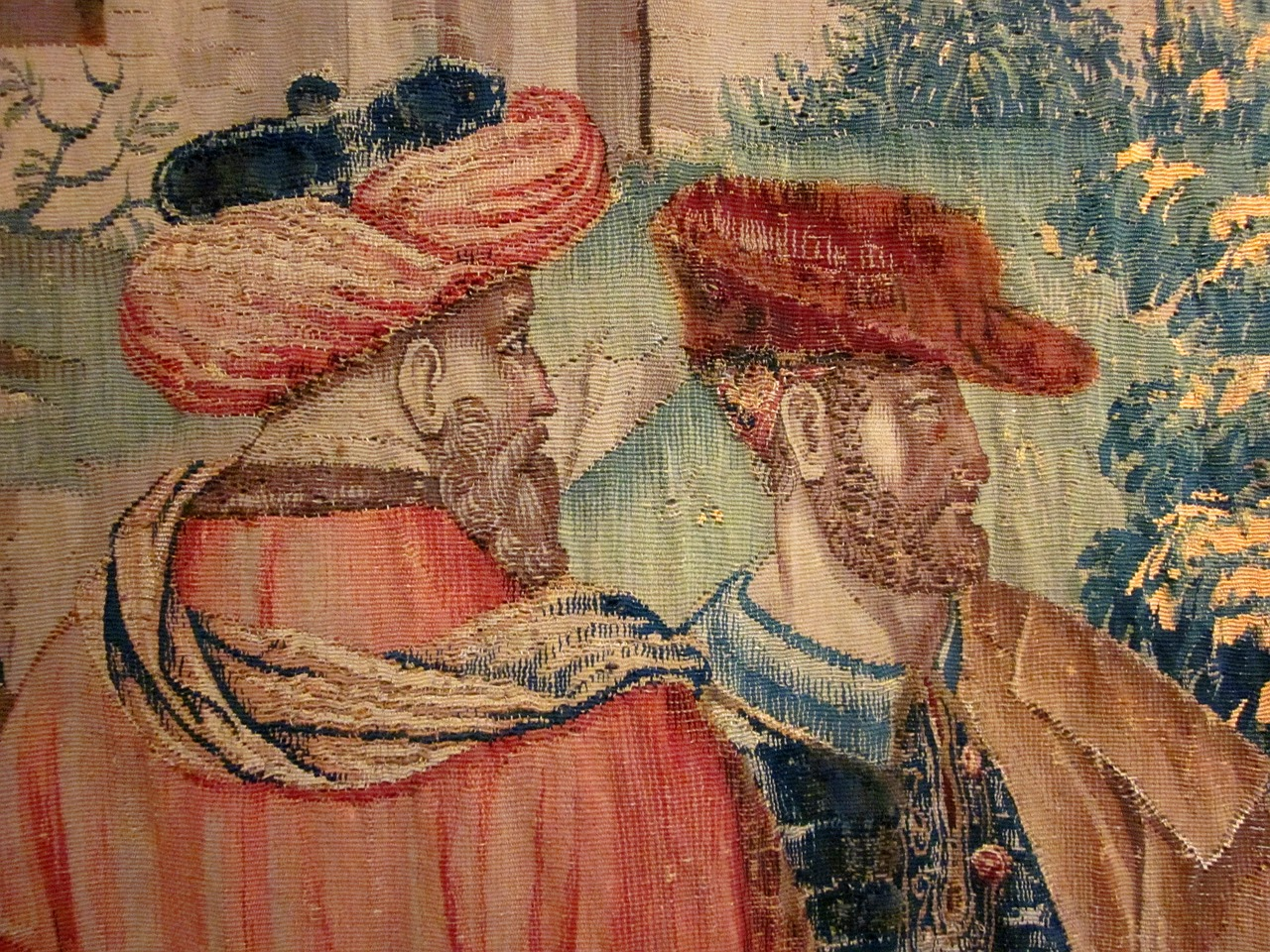 tapestry chateau de langeais renaissance free photo