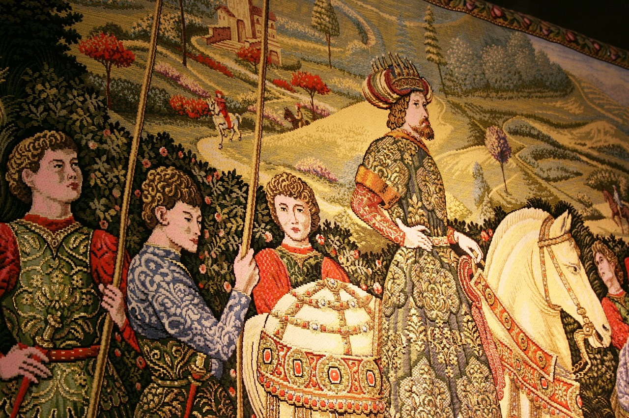 tapestry,knights,middle ages,free pictures, free photos, free images, royalty free, free illustrations, public domain