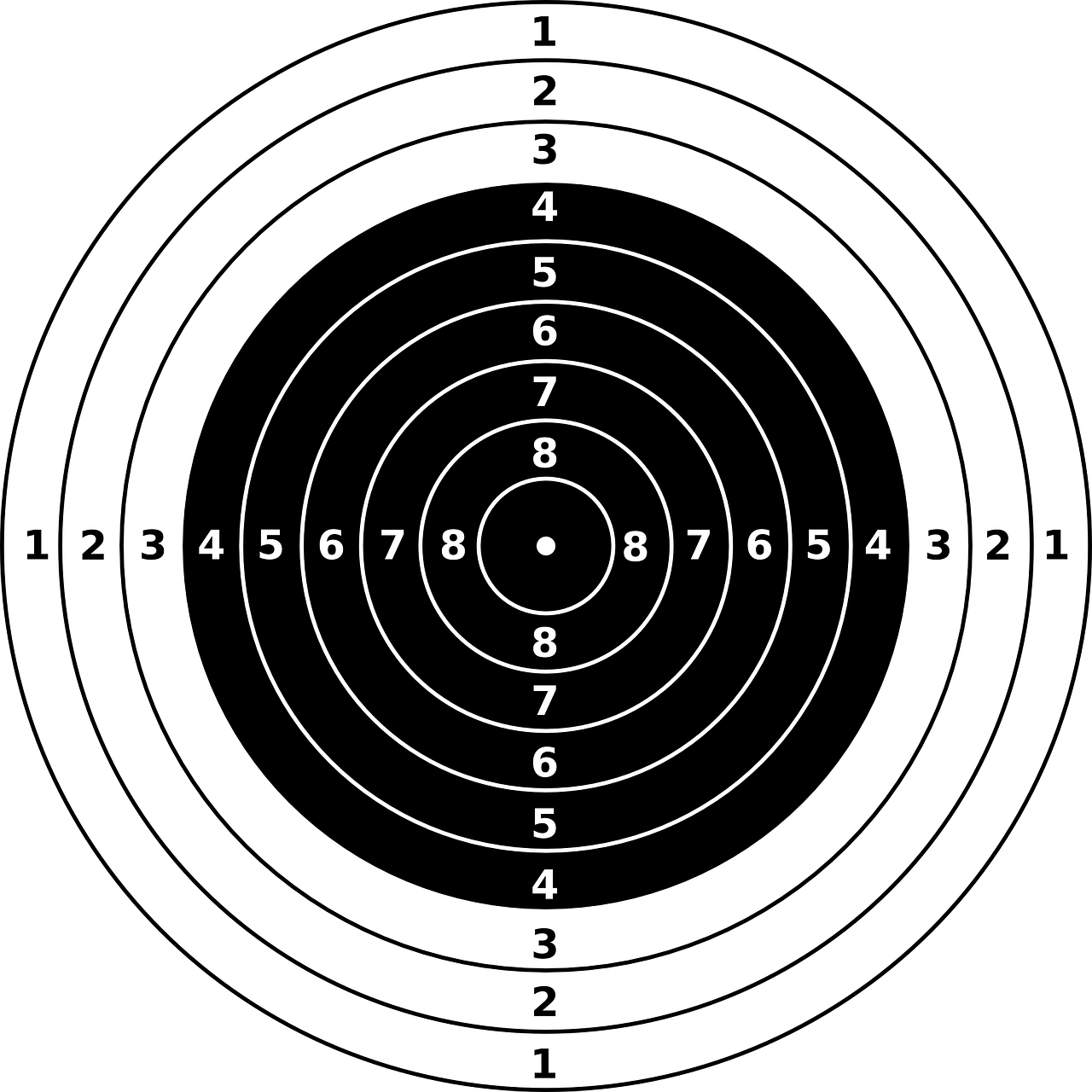 targets bullseye riffle free photo