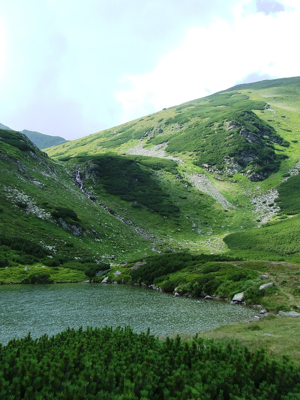 tarn mountains cathy r mountains free photo