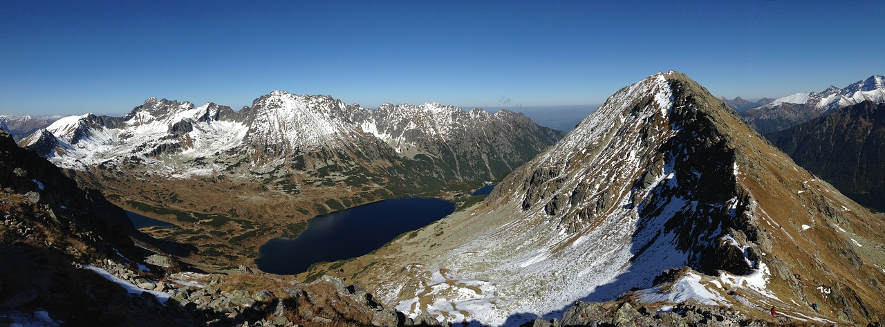 tatry mountains panorama free photo
