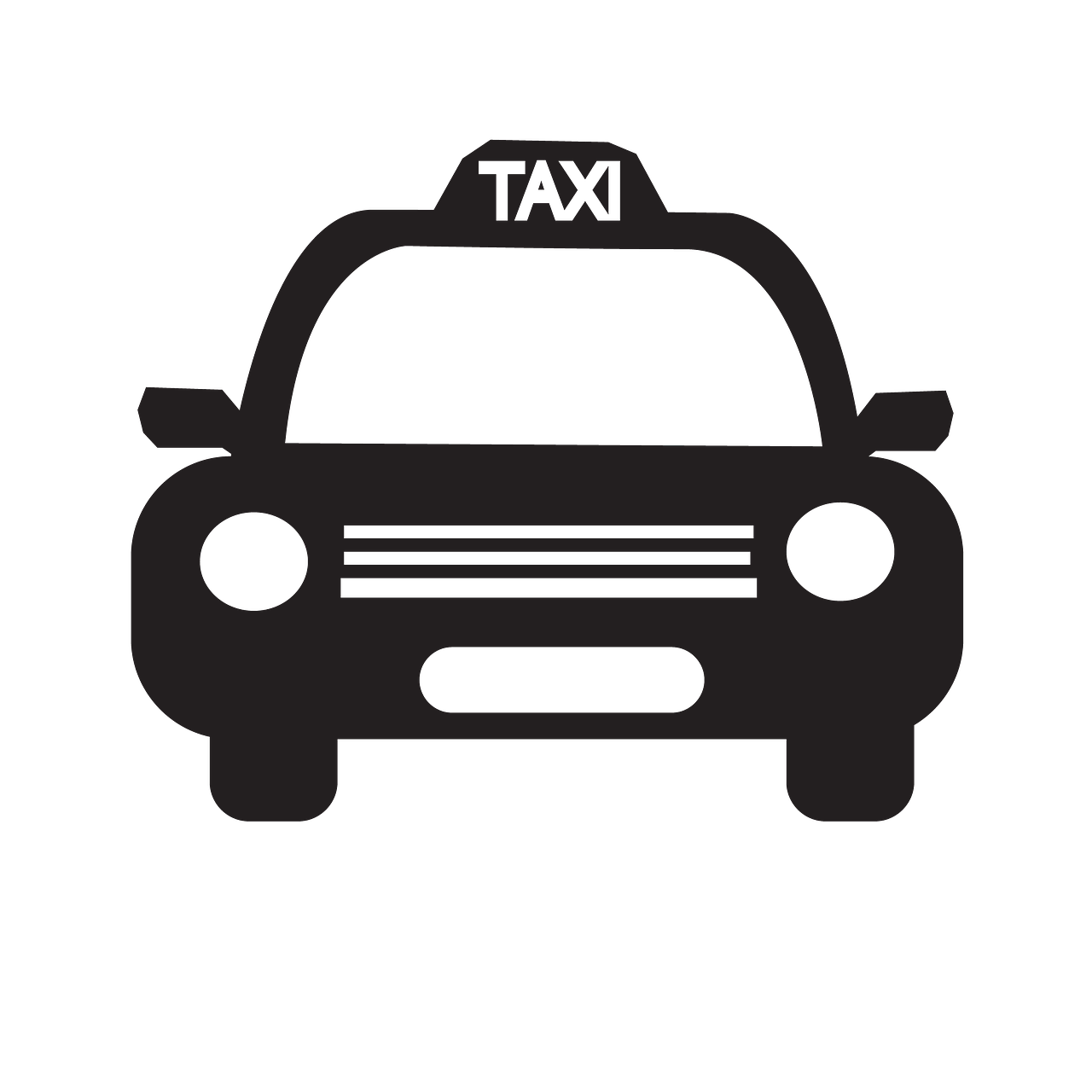 taxi icon auto automobile free photo