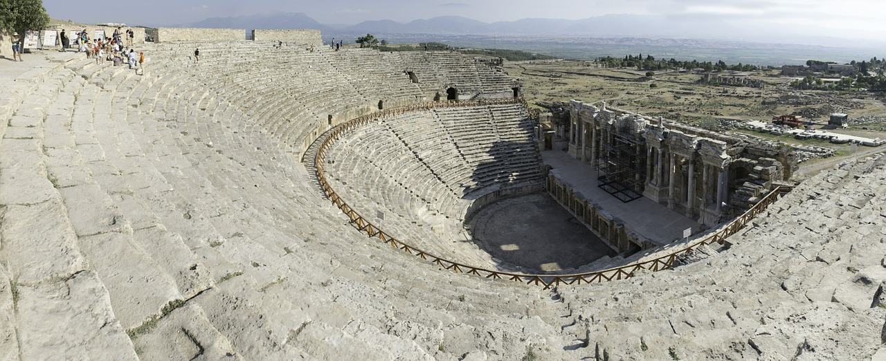 teatro hierapolis turkey free photo