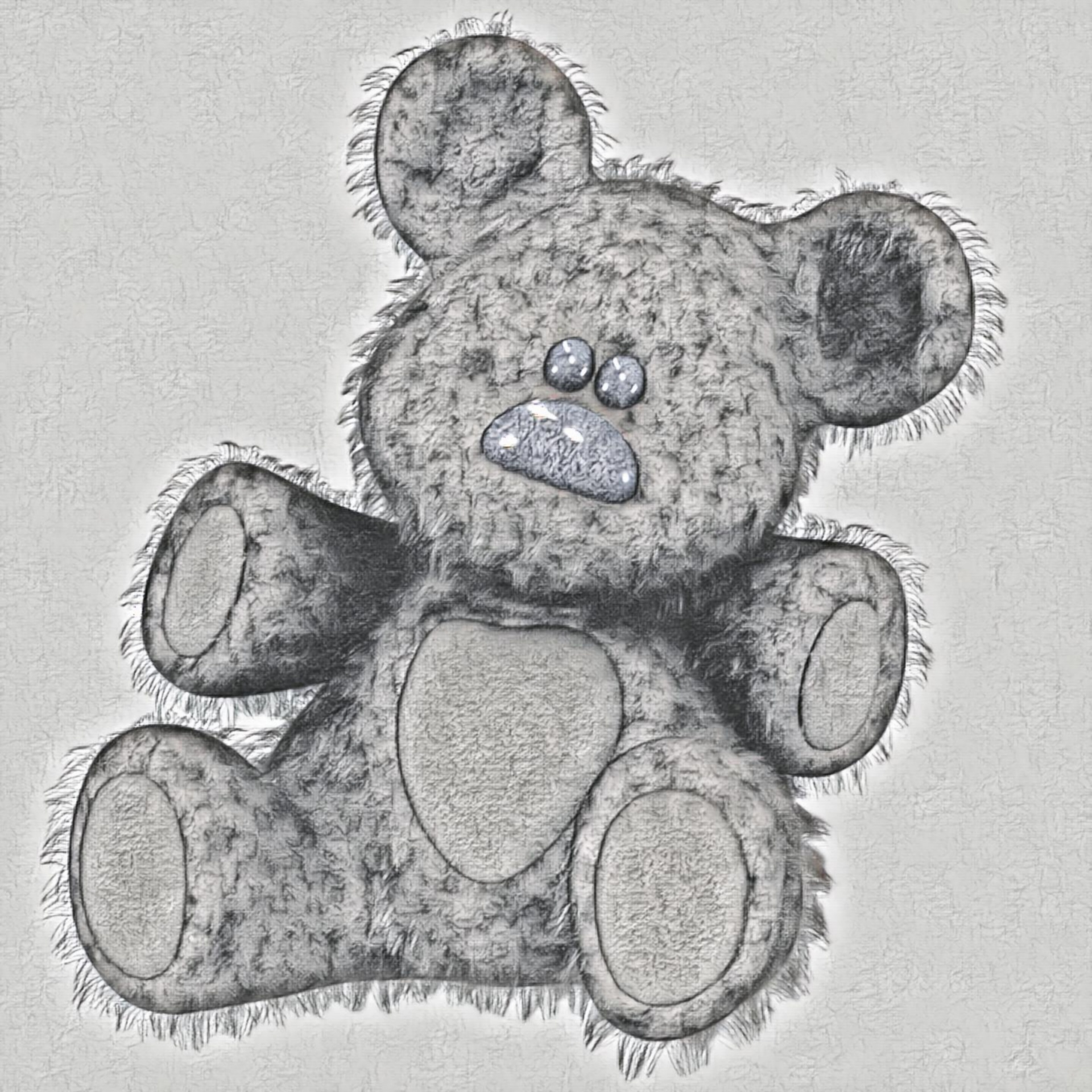 Teddybearpencildrawingtoy free photo from needpix com