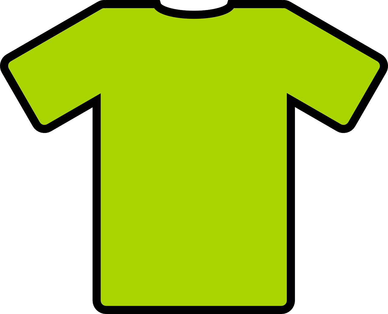 tee shirt green free photo