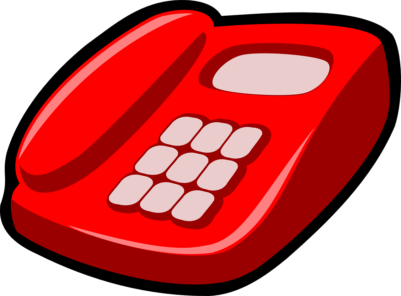 telephone,red,phone,telecommunication,instrument,buttons,press,dial,free vector graphics,free pictures, free photos, free images, royalty free, free illustrations, public domain