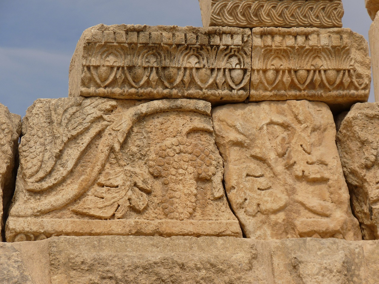 temple of artemis gerasa jerash free picture