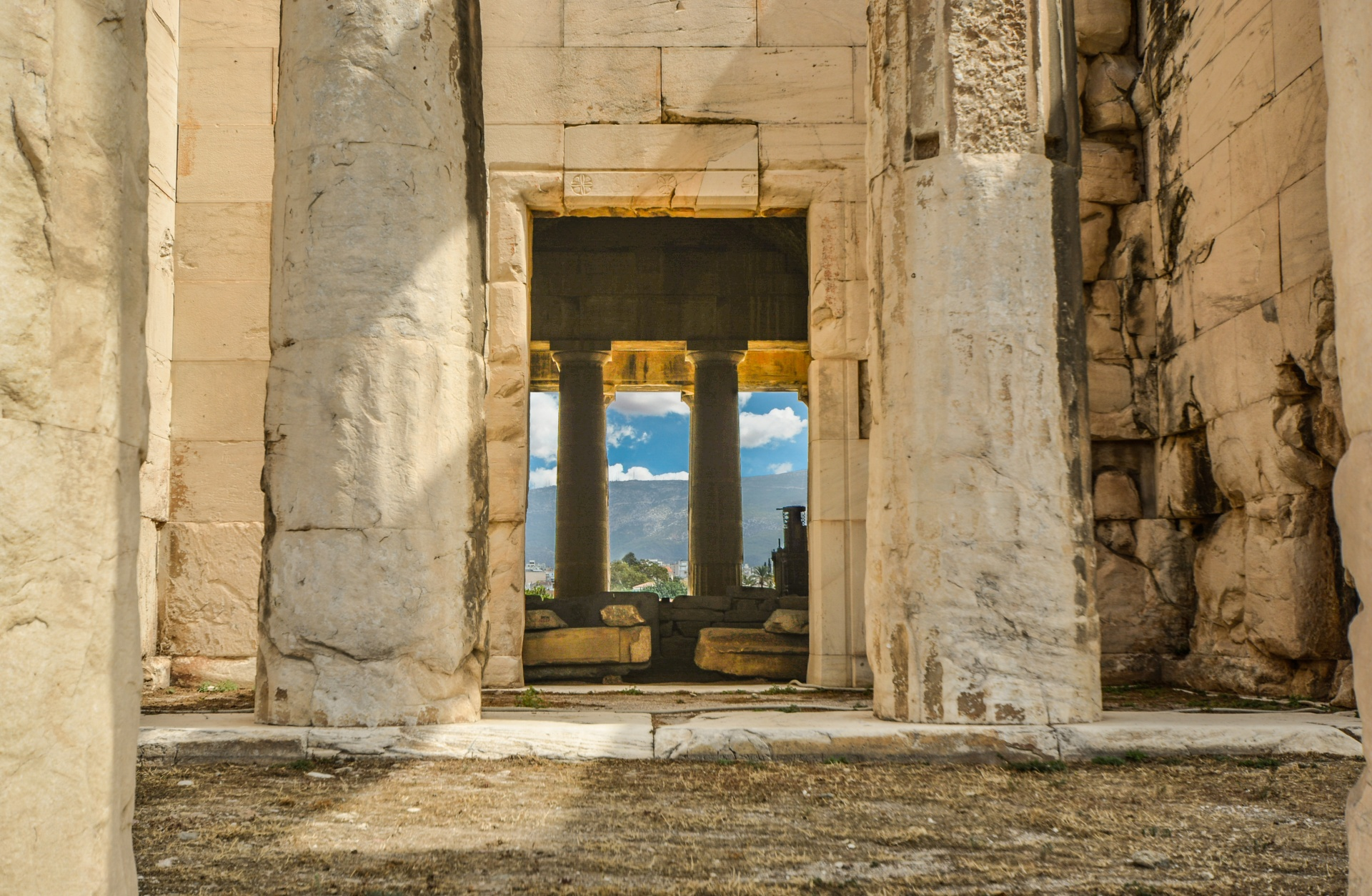 Temple of Hephaestus, Athens temple, Athens history