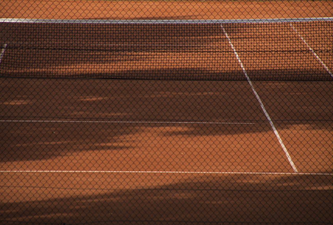 tennis court,sport,tennis,clay court,red,eingezeunt,behind barriers,containment,outdoor tennis,fitness,ball sports,within,training,sand,play,in,free pictures, free photos, free images, royalty free, free illustrations, public domain