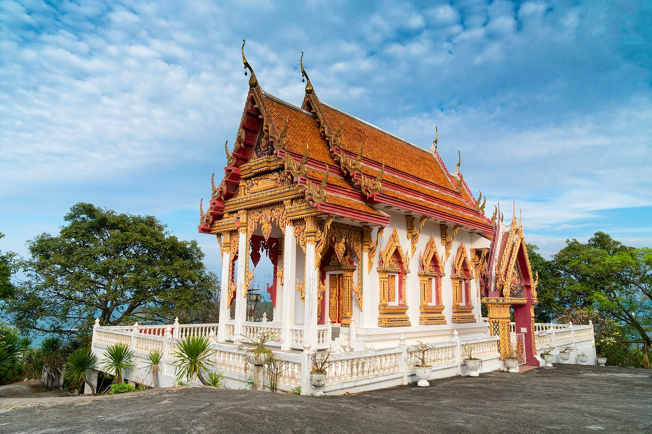 thailand temple asia free photo
