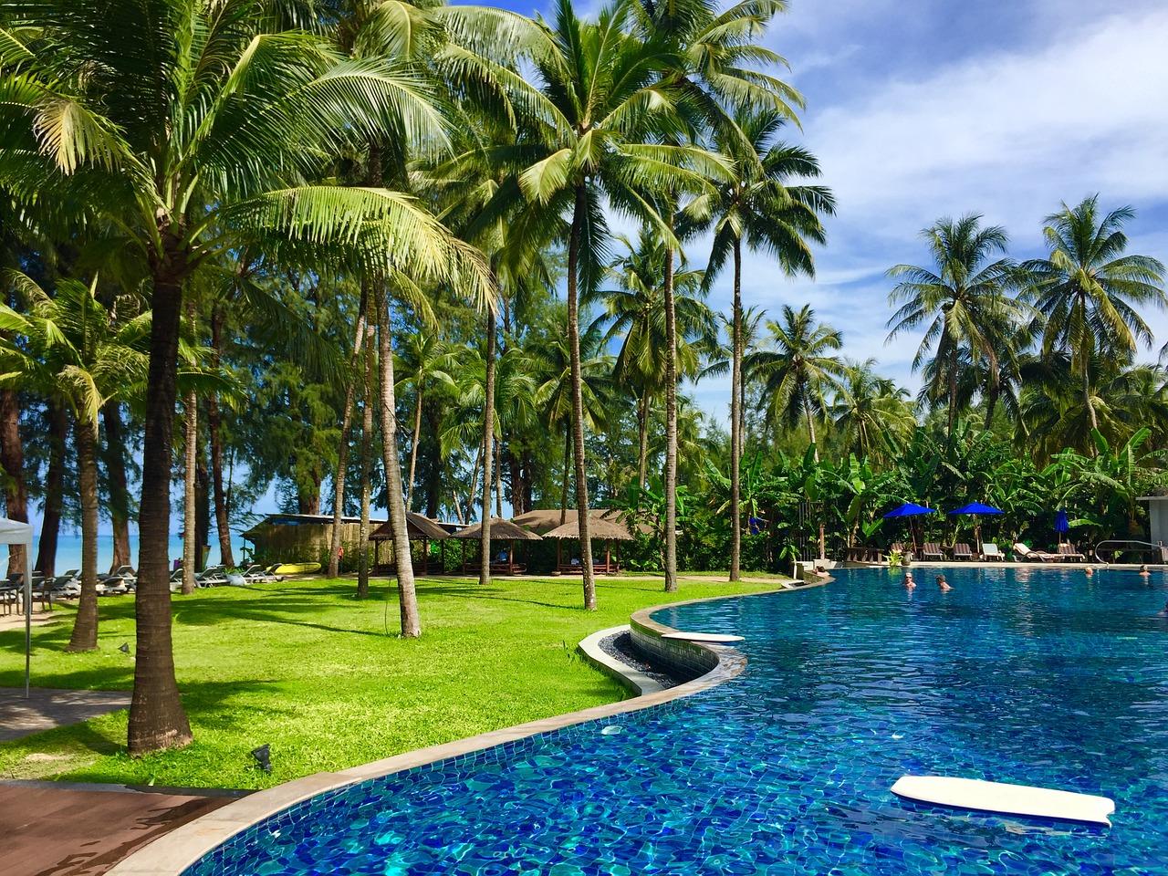 Thailand Beach Resort Travel Vacation Free Photo From