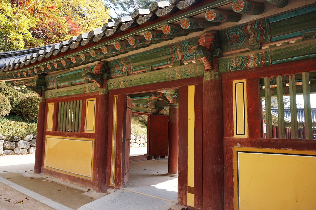 the bulguksa temple racing republic of korea free photo