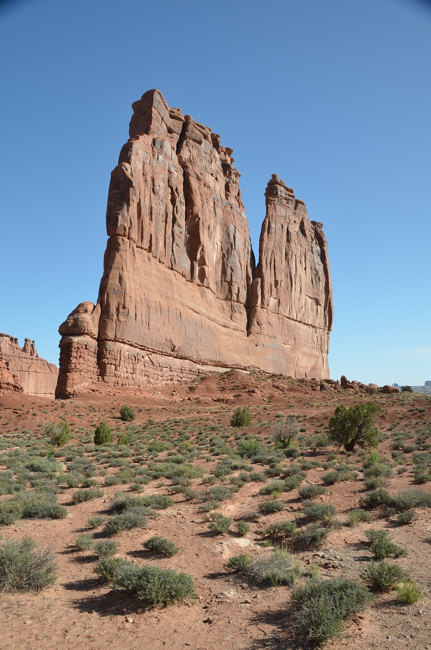 the organ rock rock formation free photo