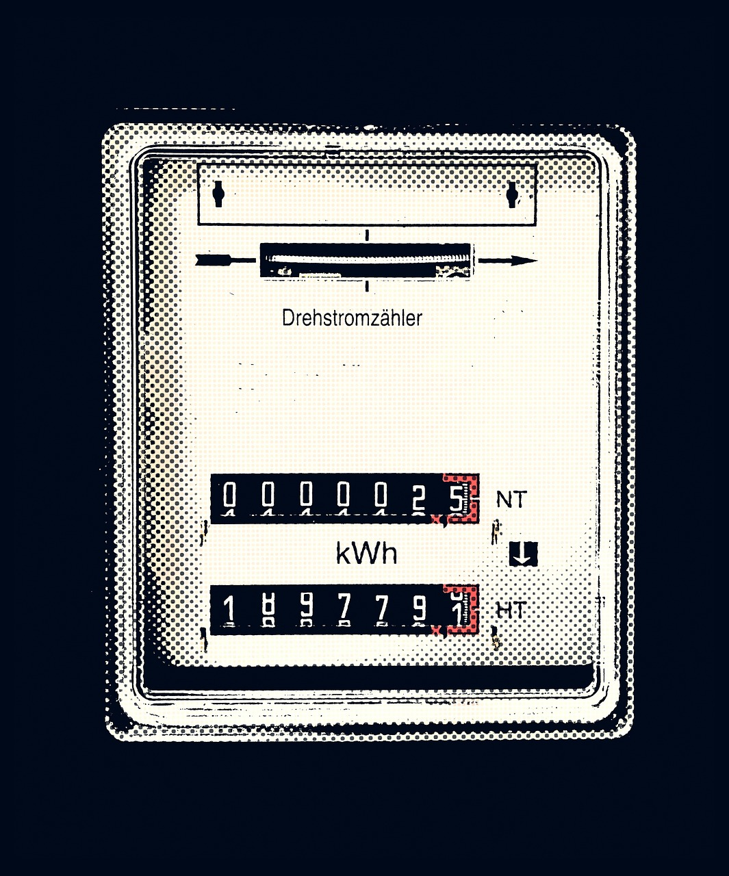 three-phase meter  electricity meter  drawing free photo