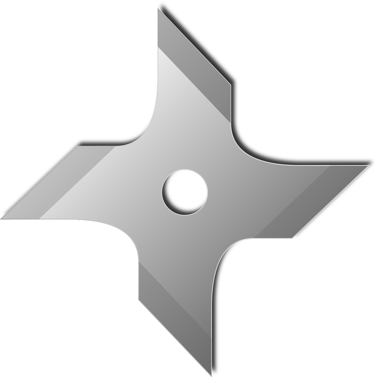 throwing star,shuriken,ninja star,weapon,japanese,metal,star,free vector graphics,free pictures, free photos, free images, royalty free, free illustrations, public domain
