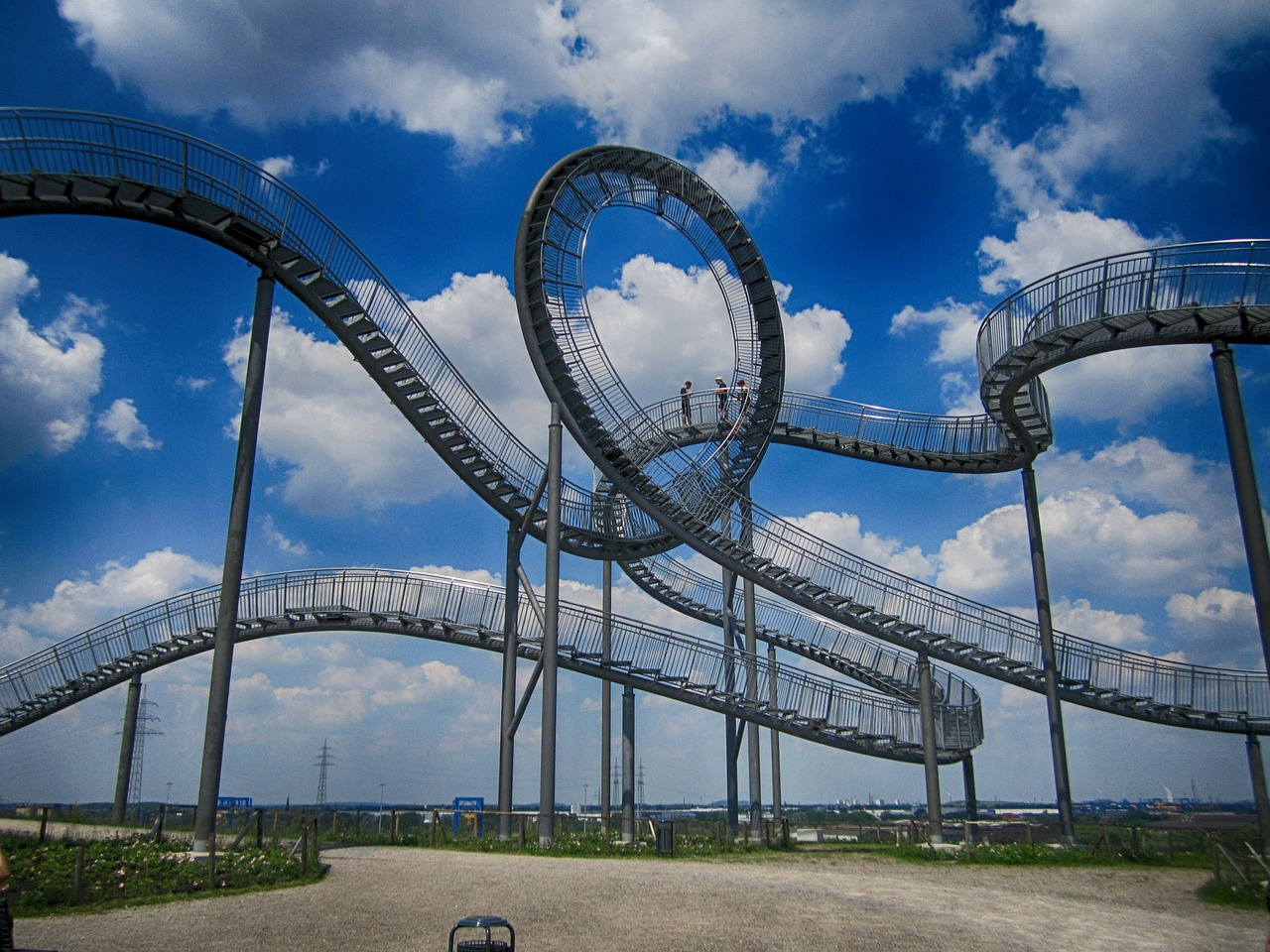 tiger and turtle duisburg landmark free photo