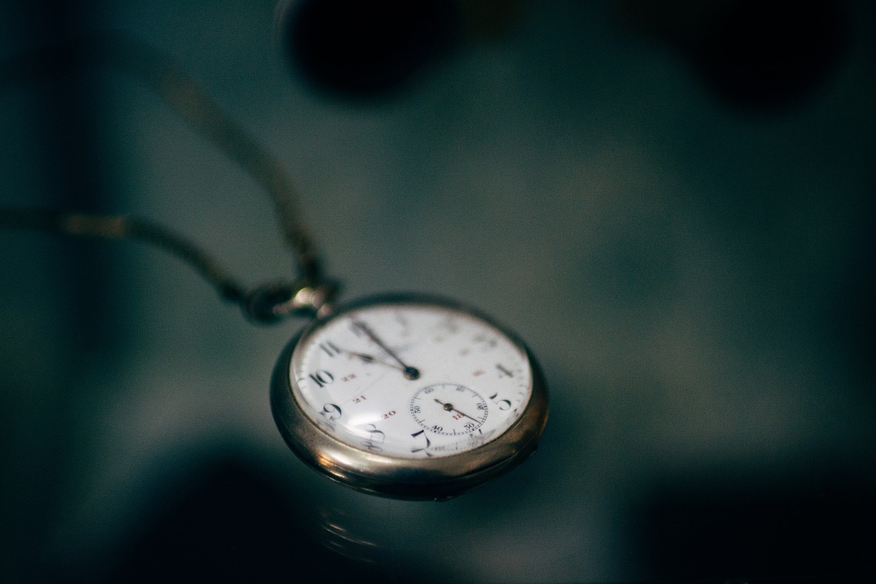 time pocket watch clock free photo
