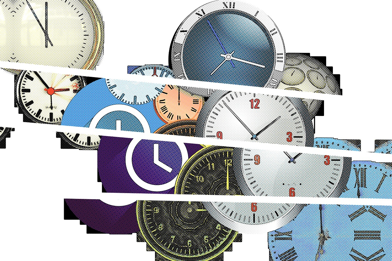 time clock watches free photo