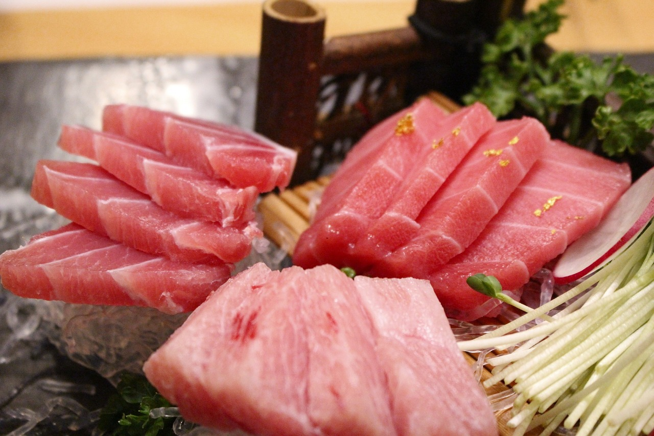 time sushi tuna free photo