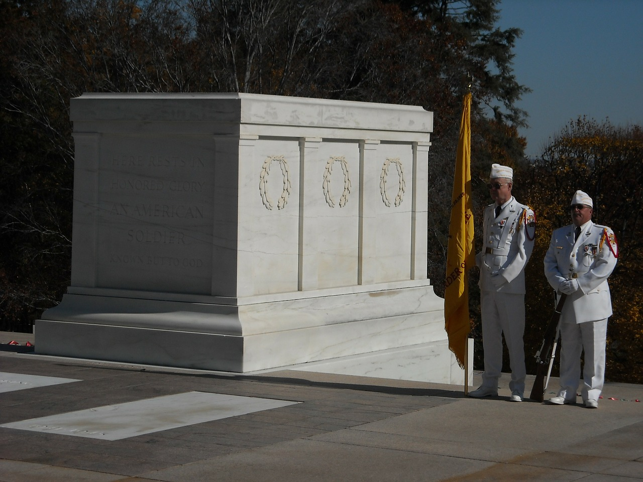 tomb guard unknown soldier free photo