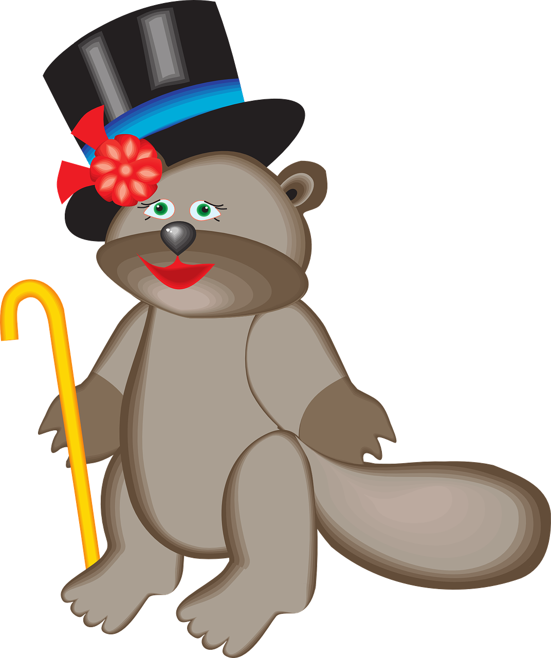 top beaver hat free photo