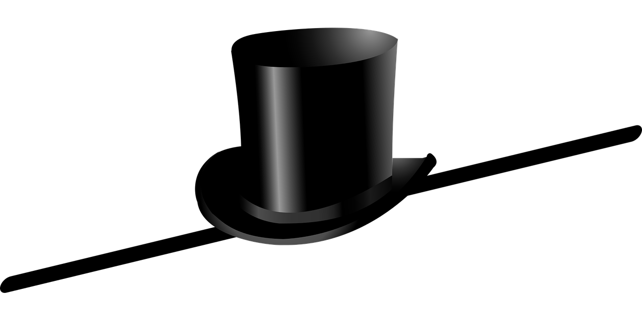 top hat cane dance free photo