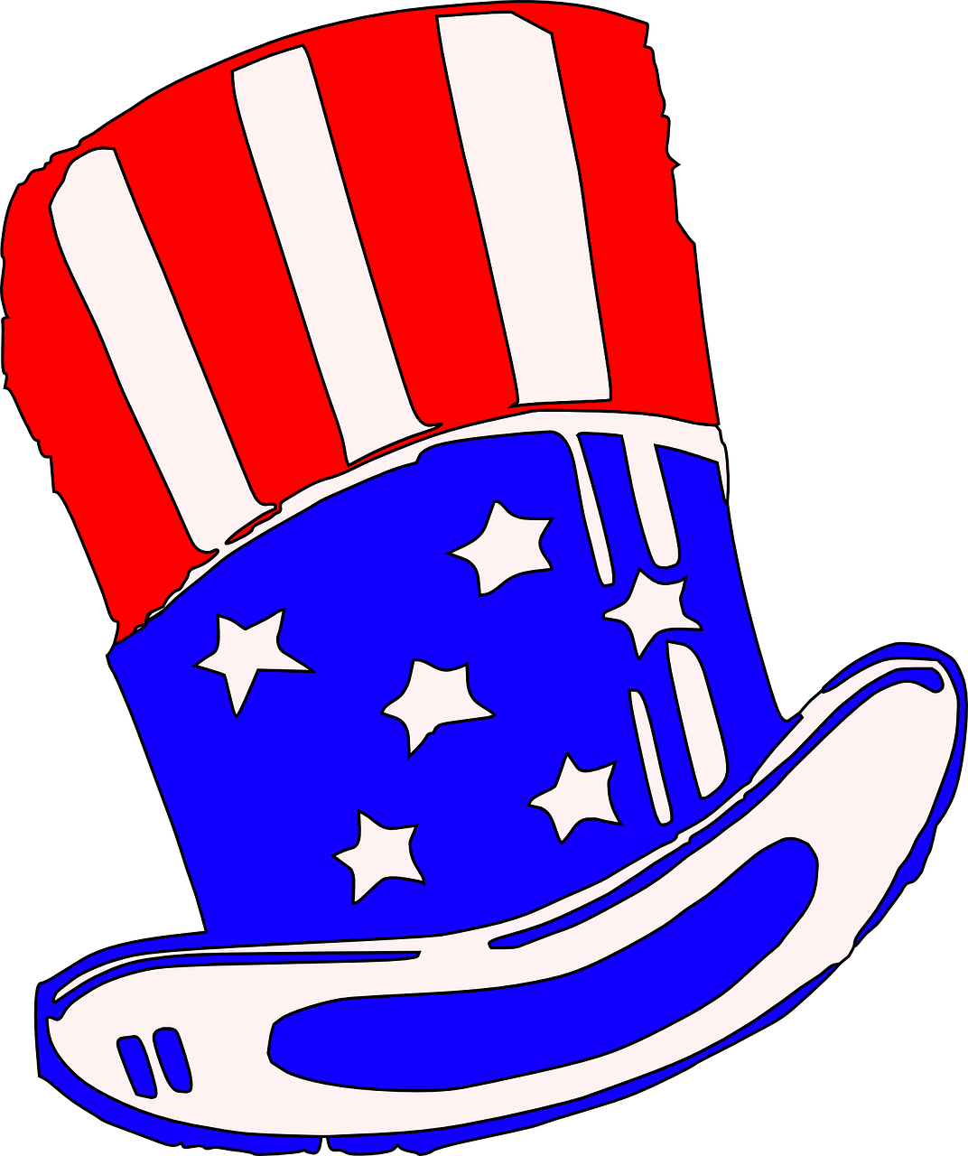 topper uncle sam united states free photo