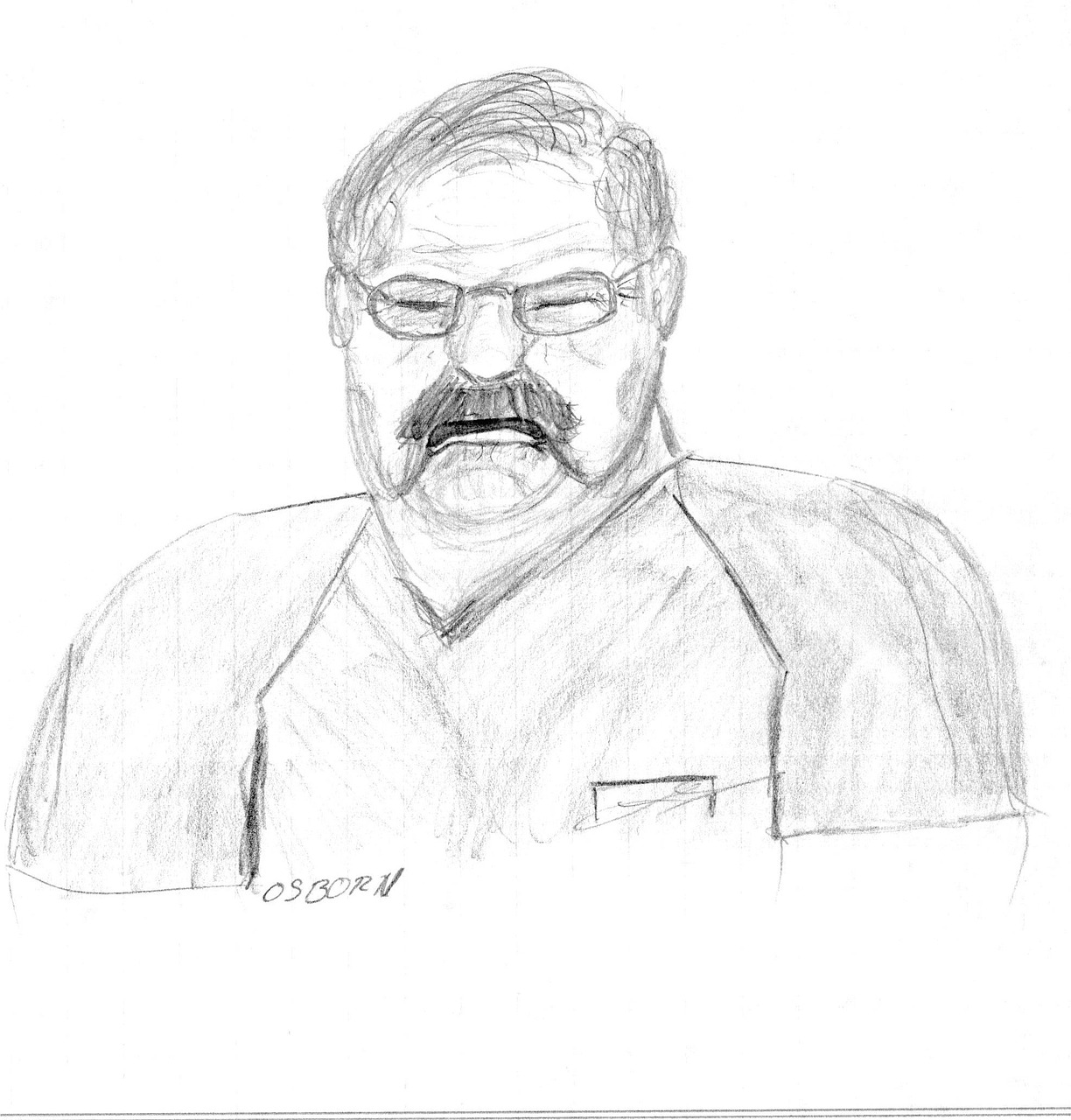 Pencil drawing man angry free picture