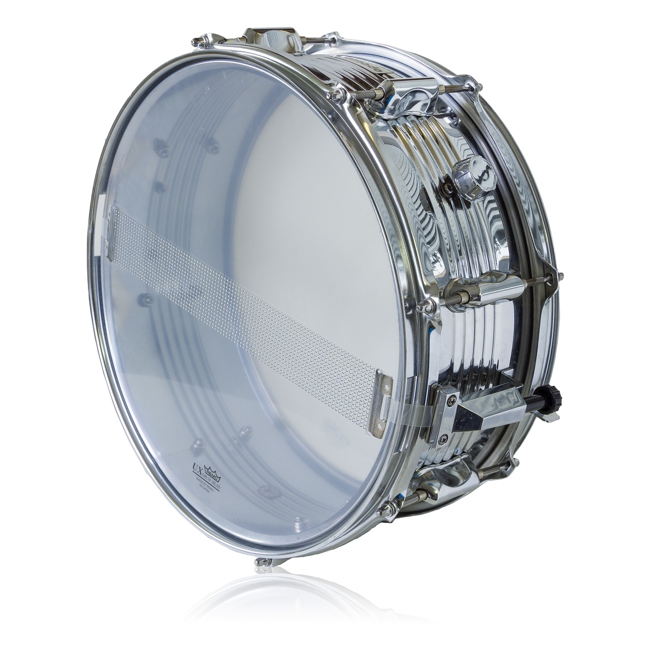 tornado drum  remo ux drum head  isolated free photo