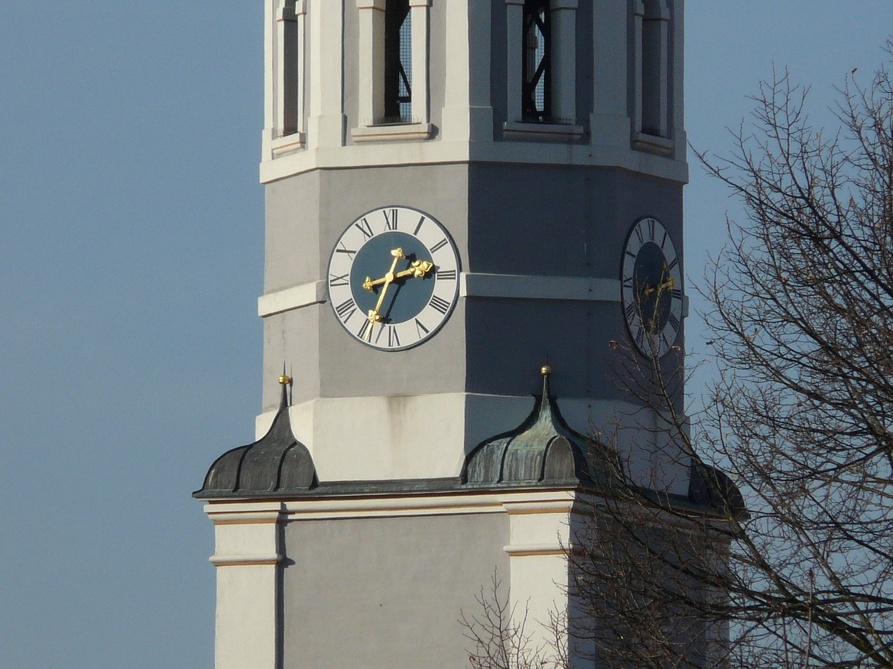 tower clock tower church free photo