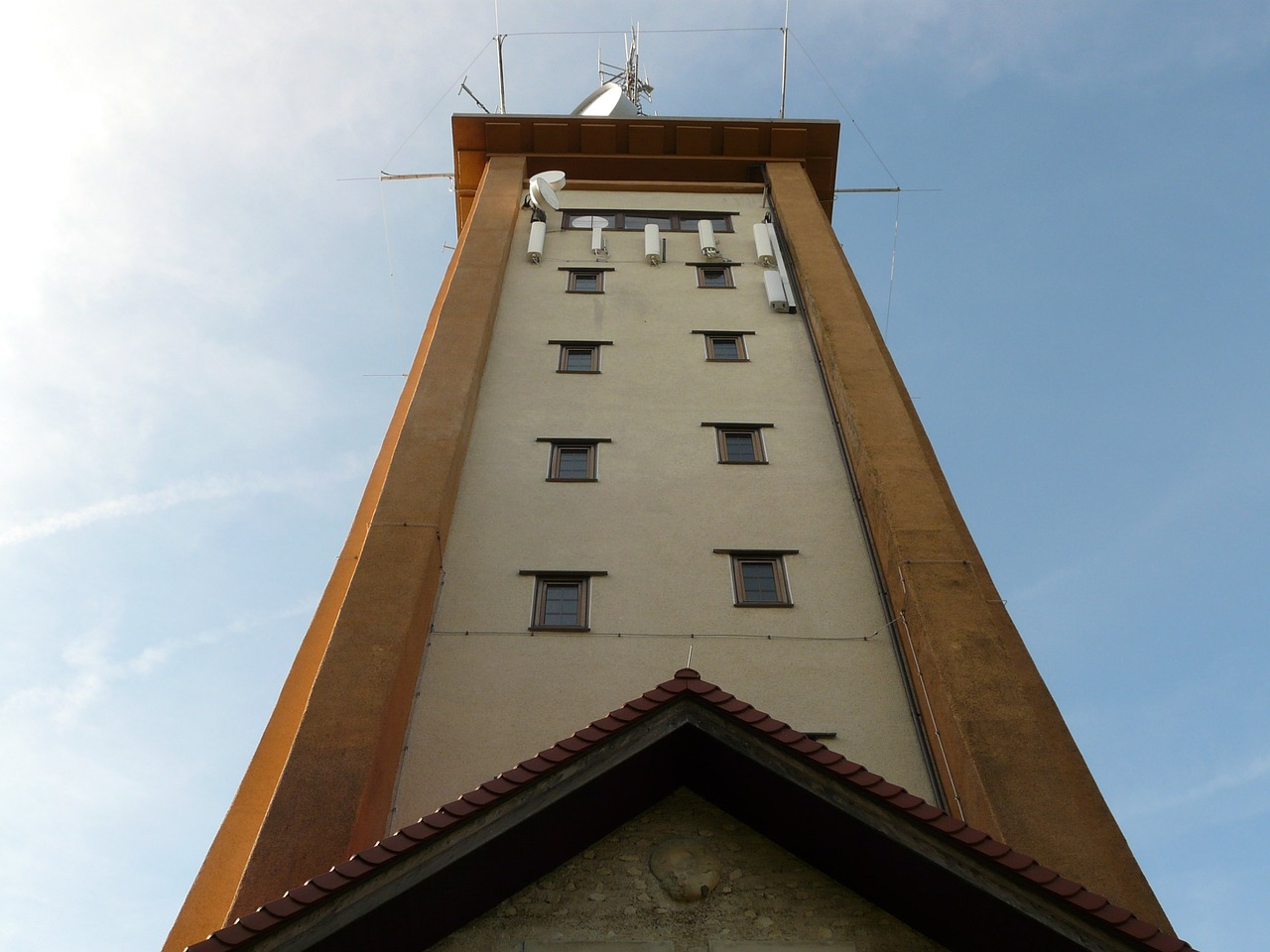 tower observation tower rossberg free picture