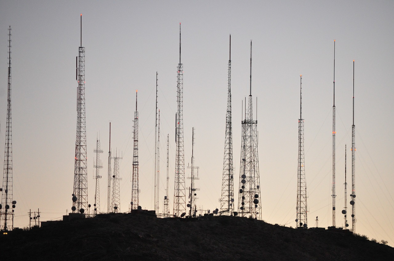 towers radio tower transmission tower free photo
