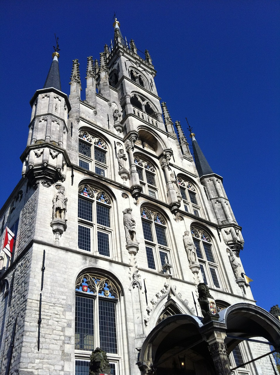 town hall gouda netherlands free photo